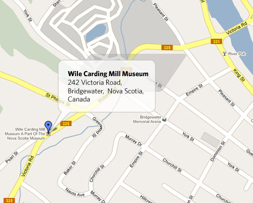 Location & Map | Wile Carding Mill
